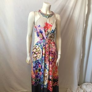 Ranna Gill arnala necklace dress Anthropologie